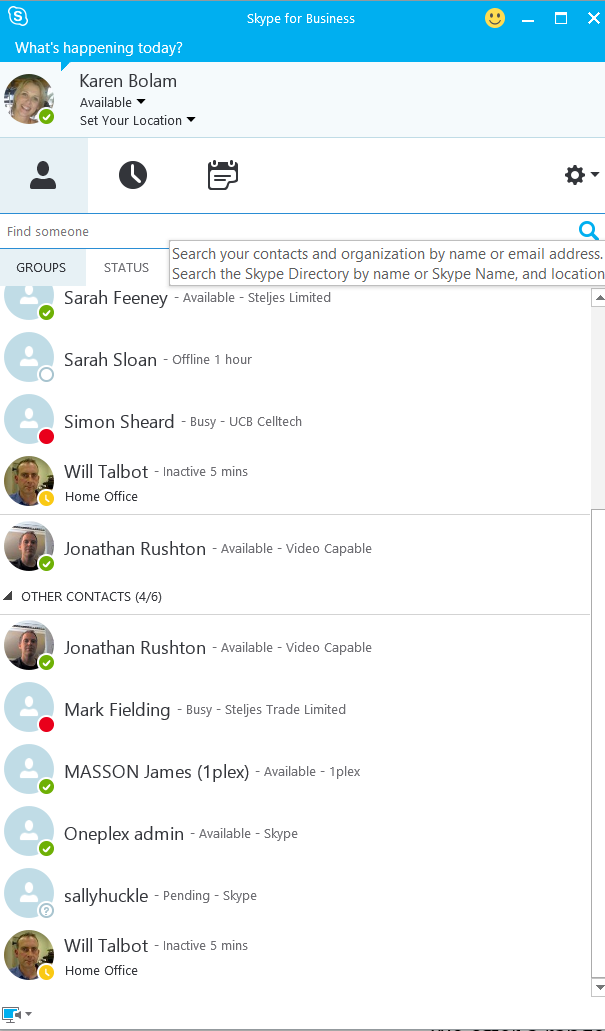 AddMeContacts - Find Online Skype Contacts